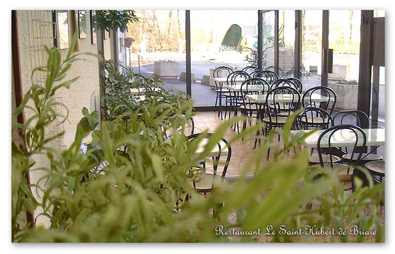 Restaurant Le Saint-Hubert de Briare - Terrasse couverte veranda