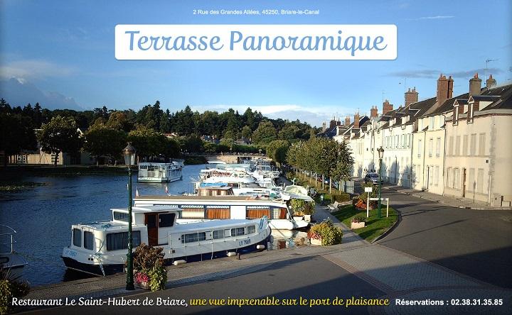 Photos du Restaurant Le Saint-Hubert de Briare - Au coeur du port de plaisance de Briare-le-Canal