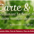 Restaurant Le Saint-Hubert de Briare - Nouveau Chef