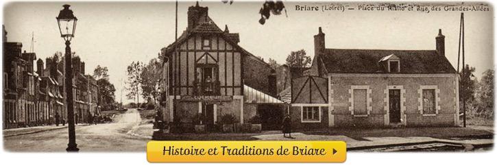 Souvenirs, Histoires et Traditions de la ville de Briare (45, Loiret, Région Centre)