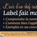 Label Plats Faits Maison. L'avis d'un professionnel Chef cuisinier : explications, applications, exemples et cas concrets