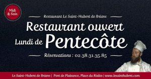 Restaurant Briare ouvert Lundi de Pentecôte - Loiret, Région Centre